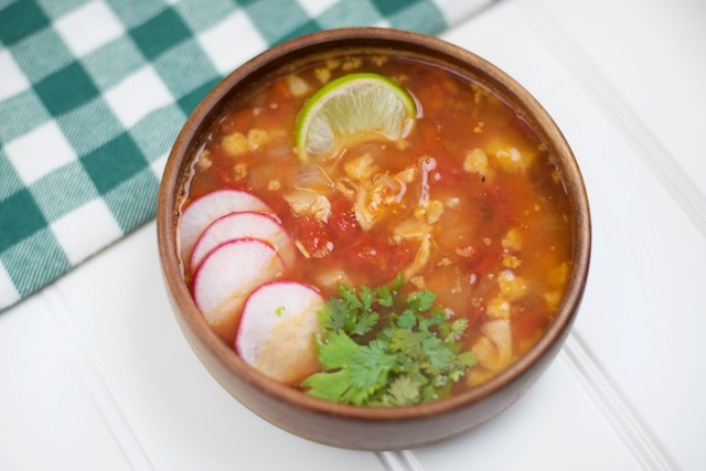 Chicken Posole Soup Recipe [paleo, primal, gluten-free]