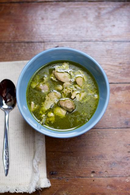 Instant Pot Chicken Green Curry Recipe [paleo, primal, gluten-free]
