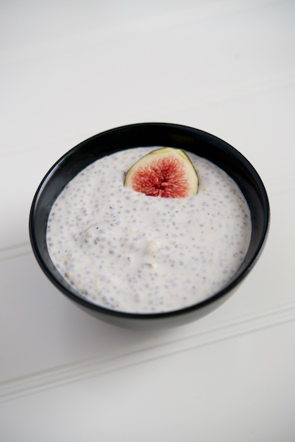 Fig Coconut Yogurt Recipe [paleo, primal, gluten-free]