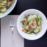 Deli-Style Cucumber Salad