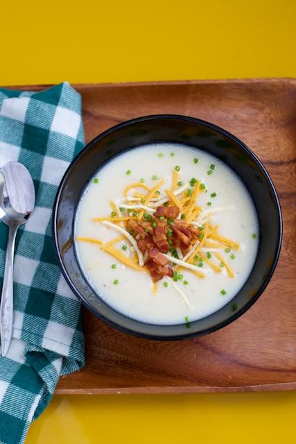 Fully Loaded Potato Soup Recipe [paleo, primal, gluten-free]