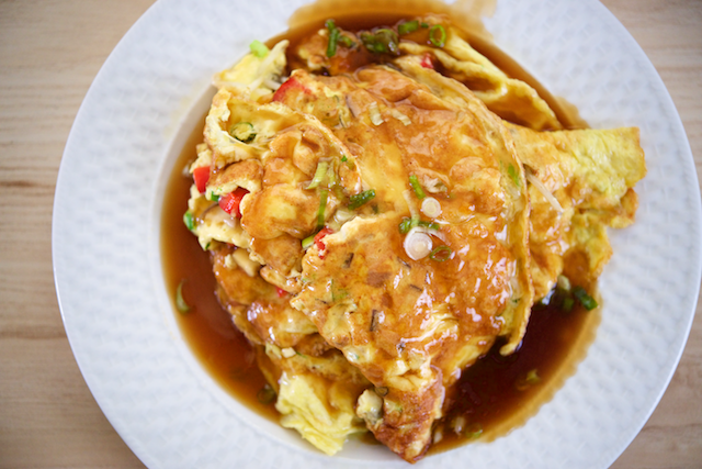 Chicken egg foo young recipe