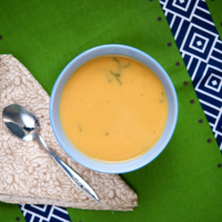 Simple Cauliflower Curry Soup
