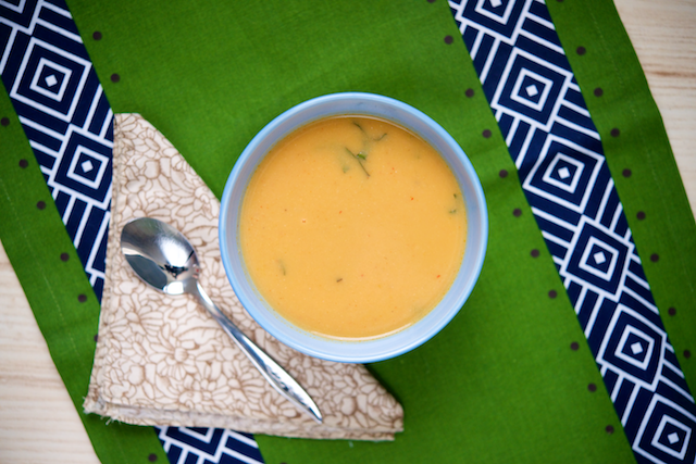 Simple Cauliflower Curry Soup Recipe [paleo, primal, gluten-free, dairy-free]