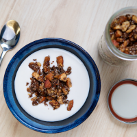 Gluten-free Granola for Breastfeeding Moms