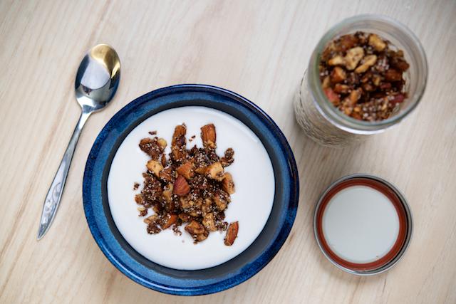 Grain-Free Granola for Breastfeeding Moms Recipe [paleo, primal, gluten-free]