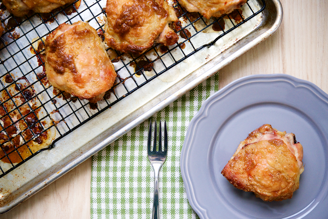 Caesar Marinated Chicken Thighs Recipe [paleo, primal, gluten-free, keto]