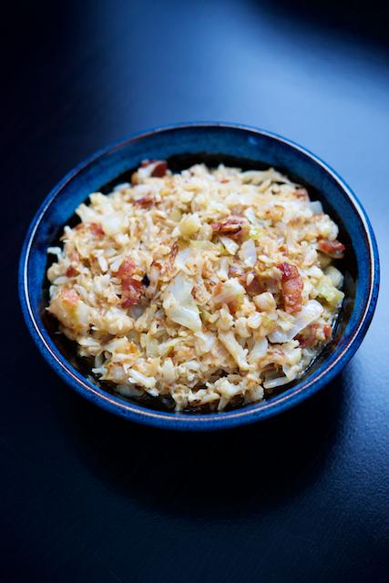 Colcannon Keto Cauliflower Hash Recipe [paleo, primal, gluten-free]