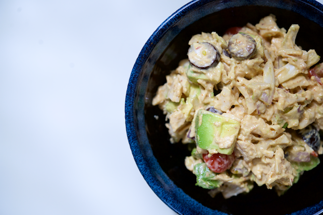 Taco-Inspired Chicken Salad Recipe [paleo, primal, gluten-free, keto]