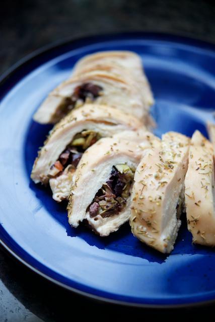 Olive and Artichoke Stuffed Chicken Breasts Recipe [paleo, primal, gluten-free, keto] (1)