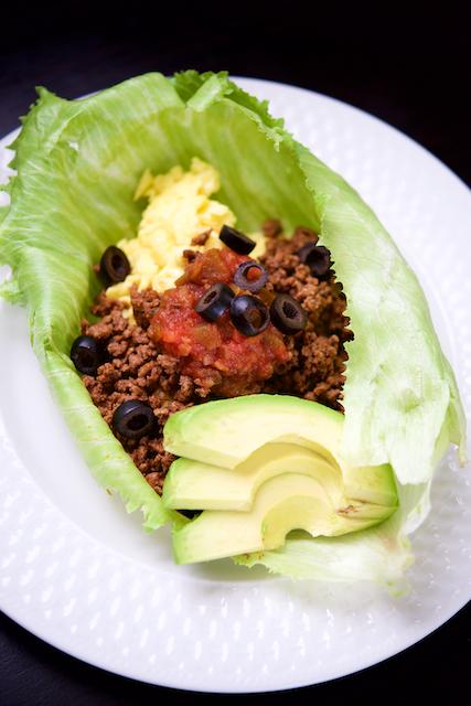 Breakfast Taco Lettuce Wraps Recipe [paleo, primal, keto, gluten-free] (1)