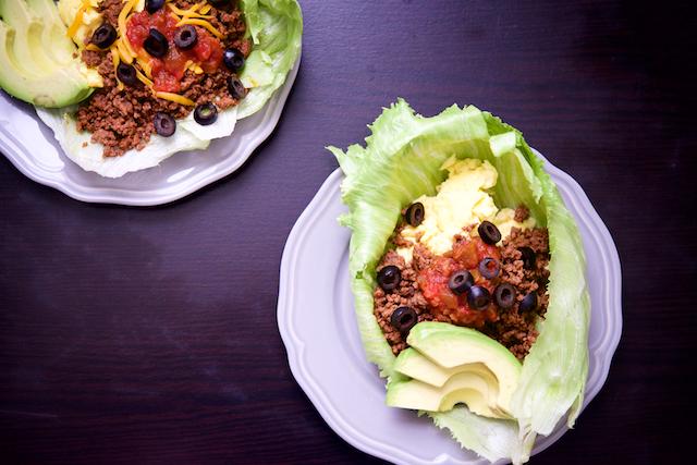 Breakfast Taco Lettuce Wraps