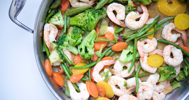 Easy Shrimp Stir Fry Recipe [paleo, primal, keto, gluten-free]
